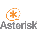 Logo da empresa ASTERISK