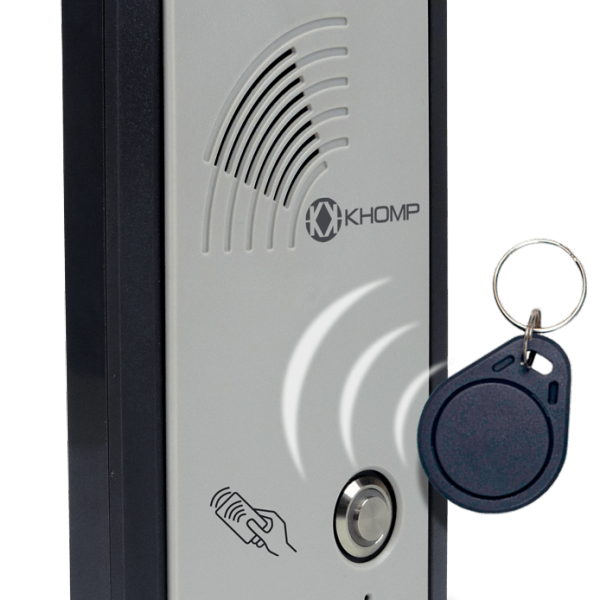 Mobile Intercom with RFID reader