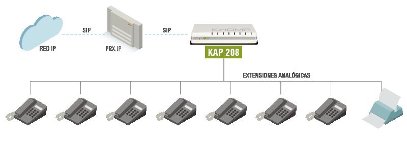 Modelo de aplicación - KAP 208