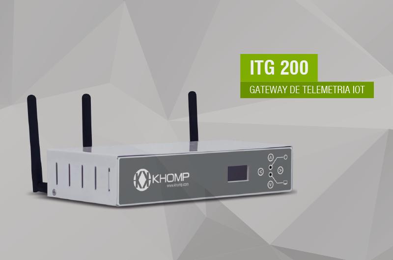 Gateway IoT - ITG 200 da Khomp