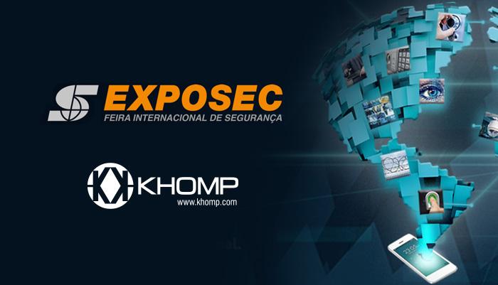 Khomp na Exposec 2018