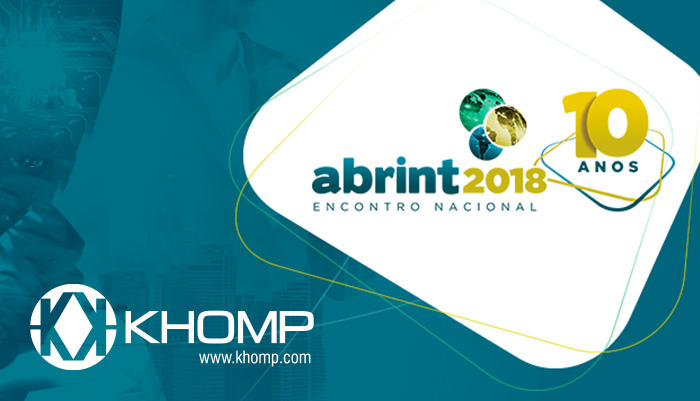 Khomp no Encontro Abrint 2018
