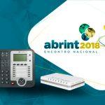 Telefones Ip e Atas Khomp na Abrint 2018