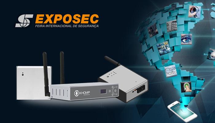 Gateways IoT e a oferta de sensores estão entre as novidades da Khomp para a Exposec 2018