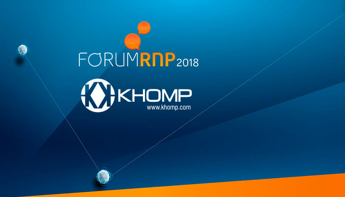 Khomp no Forum RNP 2018