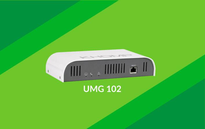 UMG 102 e atualizações na linha UMG