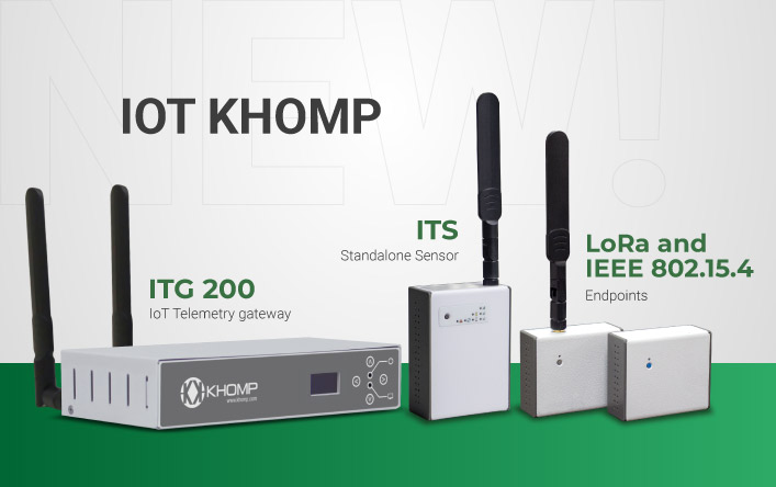 Endpoints, Gateways and IoT Sensors - Get to know the Khomp products