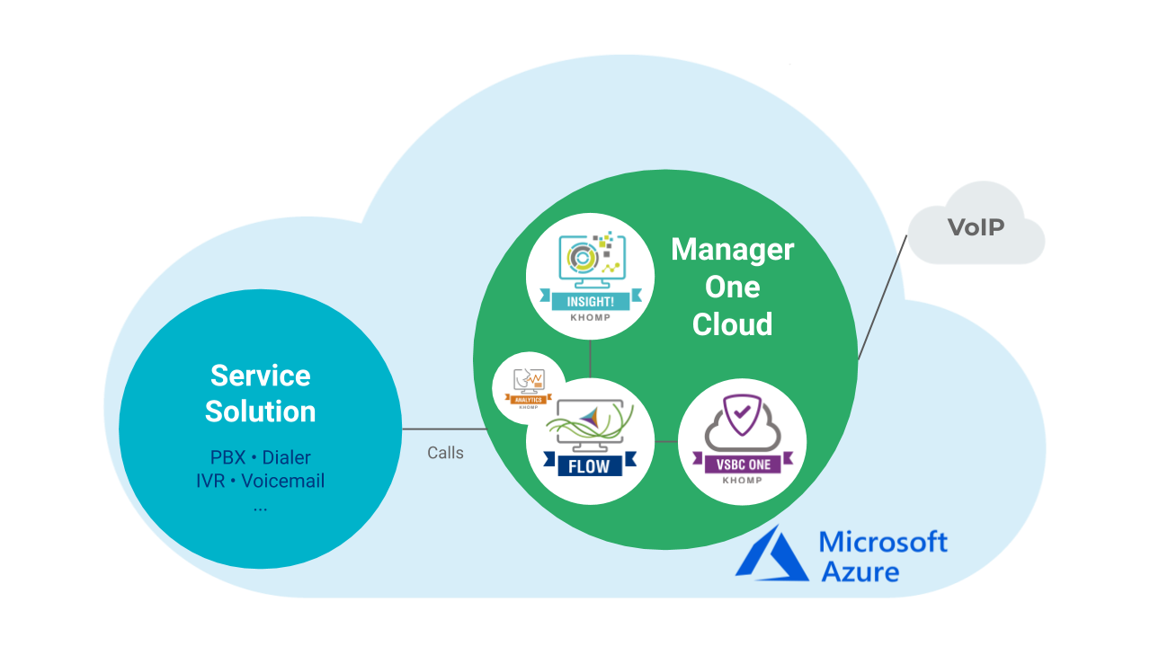 Application Model - Manager One Cloud