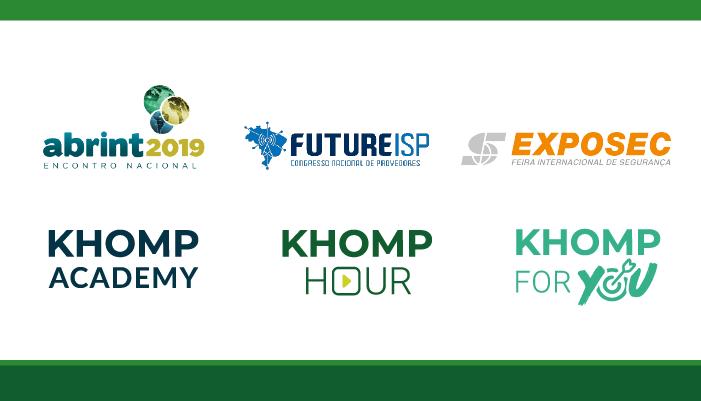 Eventos treinamentos e conteúdo, prepare-se com a Khomp
