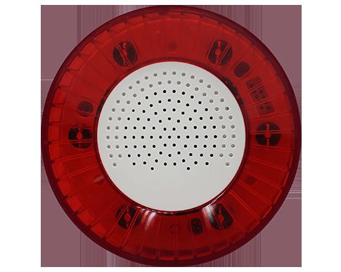 Siren with speaker and LEDs - IoT Khomp