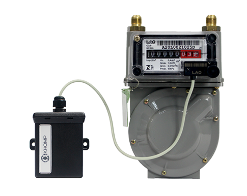 ITC 100 with Gas Meter - IoT Khomp